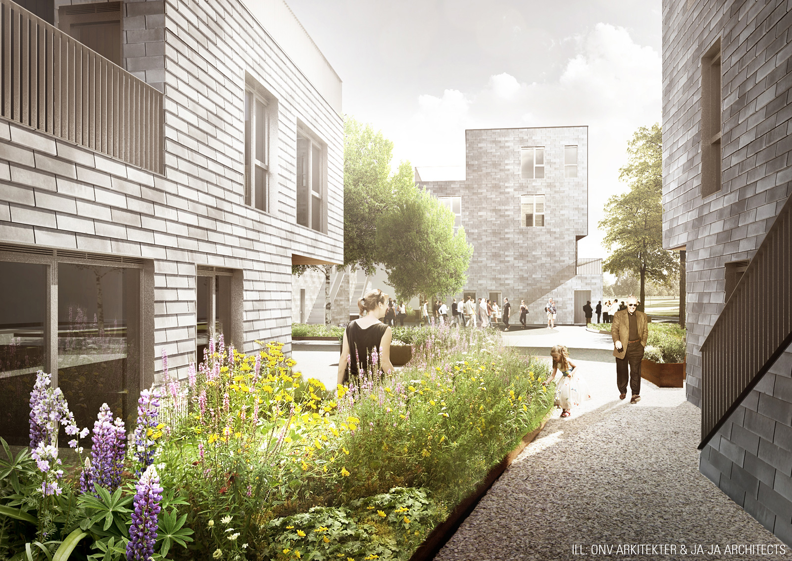 Jaja onv architects win copenhagen affordable housing competition - Affordable social housing ...