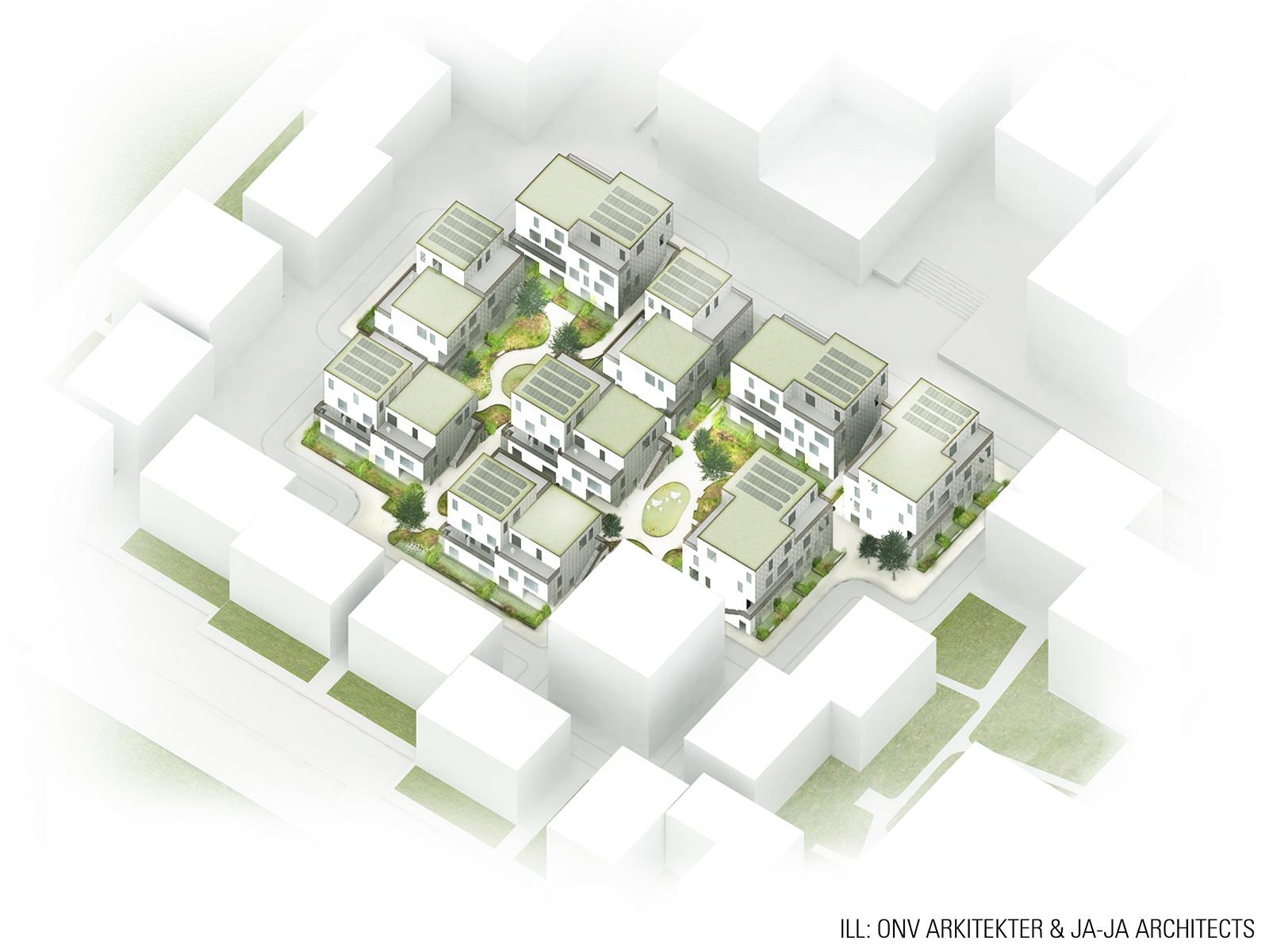 Jaja Amp Onv Architects Win Copenhagen Affordable Housing