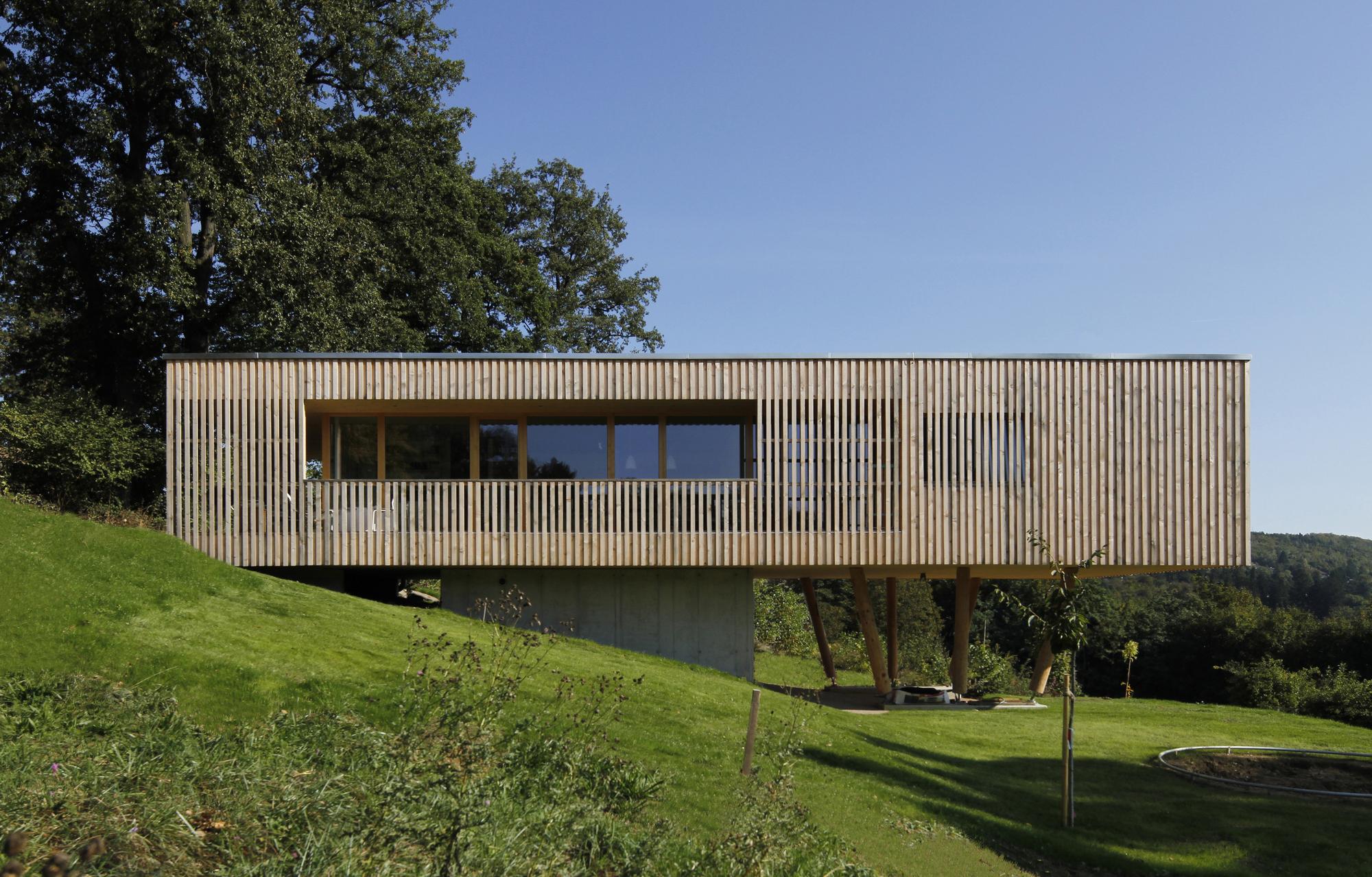 House under the Oaks Juri Troy Architects